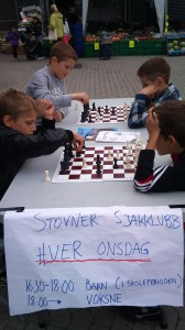 Unge entusiaster møtte opp på Haugenstua Senteret.